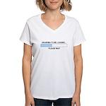 GRANDMA-TO-BE Women's V-Neck T-Shirt