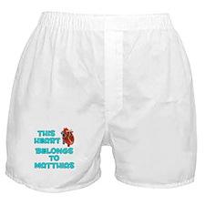 This Heart: Matthias (B) Boxer Shorts