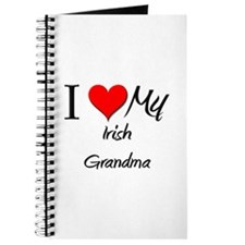 I Heart My Irish Grandma Journal
