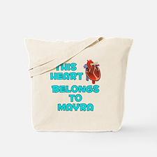 This Heart: Mayra (B) Tote Bag