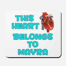 This Heart: Mayra (B) Mousepad