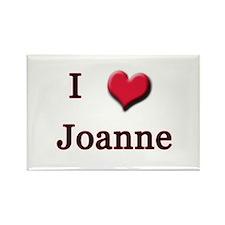I Love (Heart) Joanne Rectangle Magnet