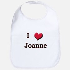 I Love (Heart) Joanne Bib