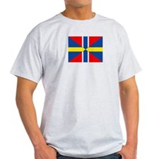 Sweden Norway Union Flag T-Shirt