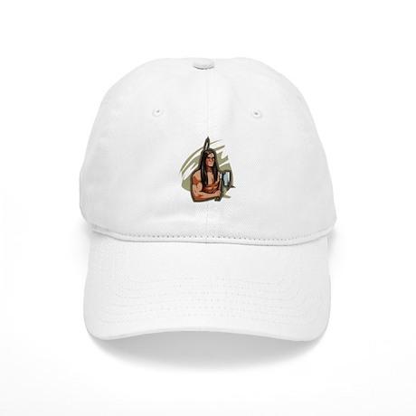 Indian w/ Tomahawk Cap