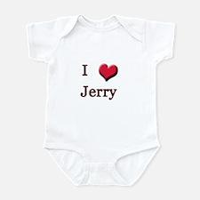 I Love (Heart) Jerry Infant Bodysuit