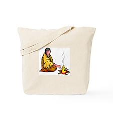 Indian Praying Tote Bag