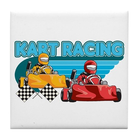 Kart Racing Tile Coaster