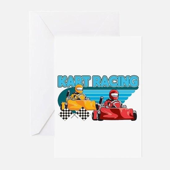 Kart Racing Greeting Cards (Pk of 20)