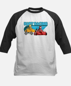 Kart Racing Kids Baseball Jersey