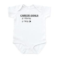 Attorney Career Goals Infant Bodysuit