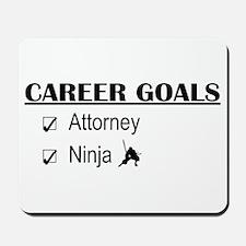 Attorney Career Goals Mousepad