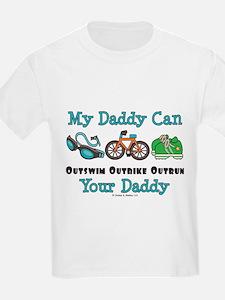 My Daddy Triathlon T-Shirt