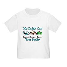 My Daddy Triathlon Baby T