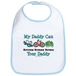 My Daddy Triathlon Baby Bib