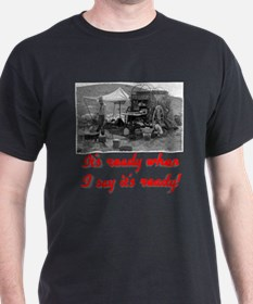 "Red ""When I say"" T-Shirt"