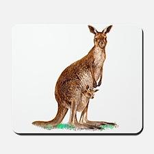 Western Gray Kangaroo Mousepad