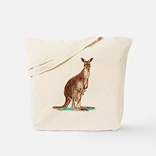 Western Gray Kangaroo Tote Bag