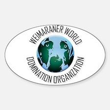 WWDO Logo Oval Decal