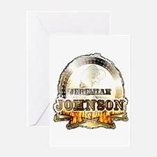 "Liver eating Johnson "" Jeremi Greeting Card"