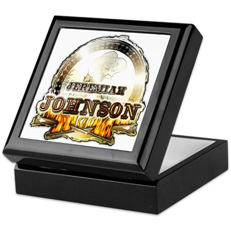 "Liver eating Johnson "" Jeremi Keepsake Box"