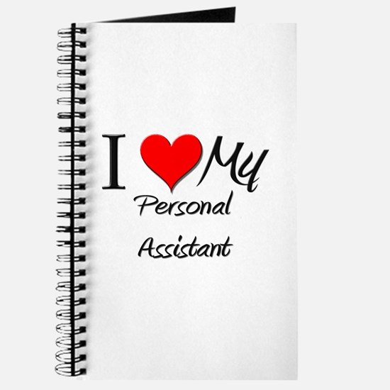 I Heart My Personal Assistant Journal