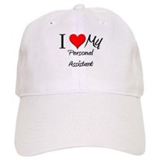 I Heart My Personal Assistant Baseball Cap
