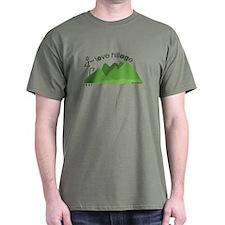 I love hills T-Shirt