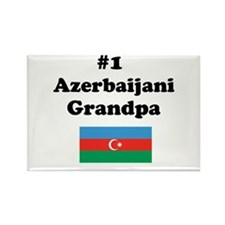 #1 Azerbaijani Grandpa Rectangle Magnet