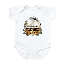 """Liver eating Johnson """" Jeremi Infant Bodysuit"""