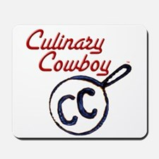 Culinary Cowboy Brand  Mousepad