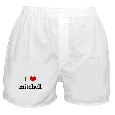 I Love mitchell Boxer Shorts