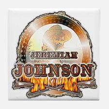 "Liver eating Johnson "" Jeremi Tile Coaster"