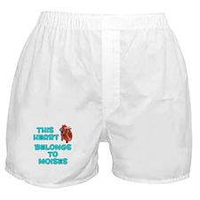 This Heart: Moises (B) Boxer Shorts