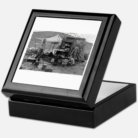 Culinary Cowboy Chuck Wagon Keepsake Box