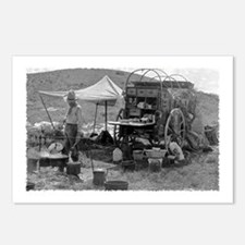 Culinary Cowboy Chuck Wagon Postcards (Package of