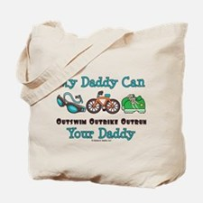 My Daddy Triathlon Tote Bag