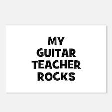 my guitar teacher rocks Postcards (Package of 8)