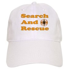 Orange SAR Baseball Cap