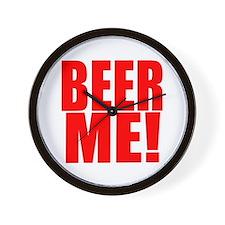 Culinary Cowboy Beer Me Wall Clock