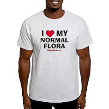 Normal Flora Love T-Shirt