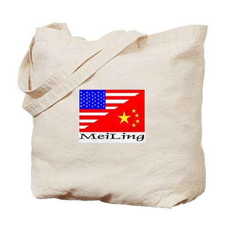 MeiLing Flags Tote Bag