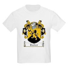 Barker Family Crest Kids T-Shirt