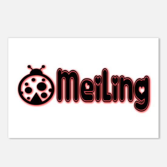 MeiLing Ladybug Postcards (Package of 8)
