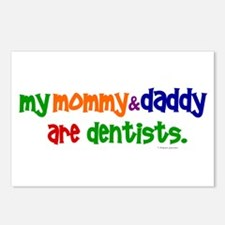 My Mommy & Daddy Are Dentists (PR) Postcards (Pack