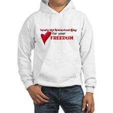 lonely for your freedom Hoodie
