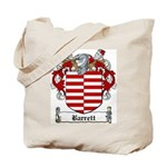 Barrett Family Crest Tote Bag