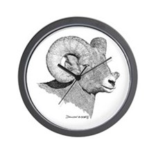 Bighorn Sheep Wall Clock