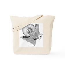 Bighorn Sheep Tote Bag