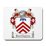 Barrington Family Crest Mousepad